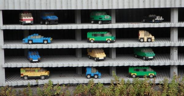 アンパンマンミュージアムの駐車場