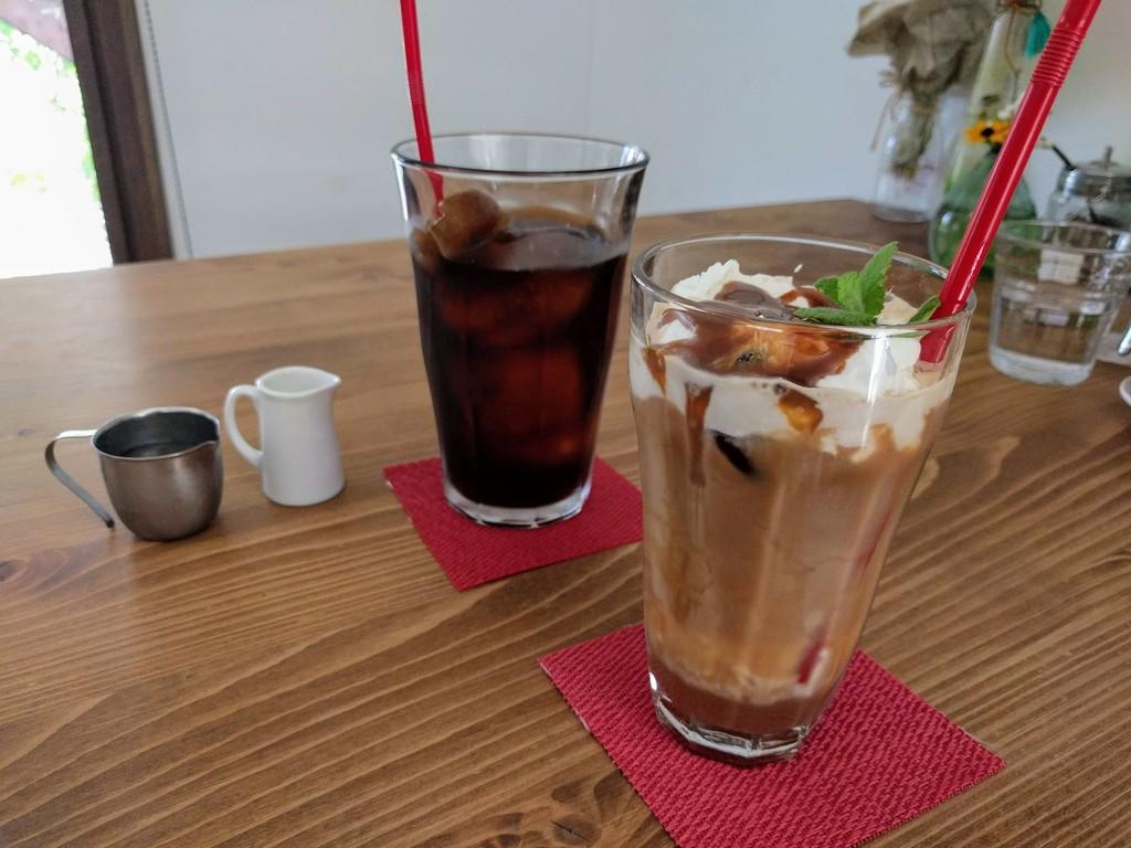 ミツバチガーデンカフェの夏ドリンク