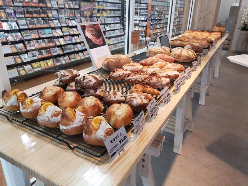 アンドマークカフェのパン03