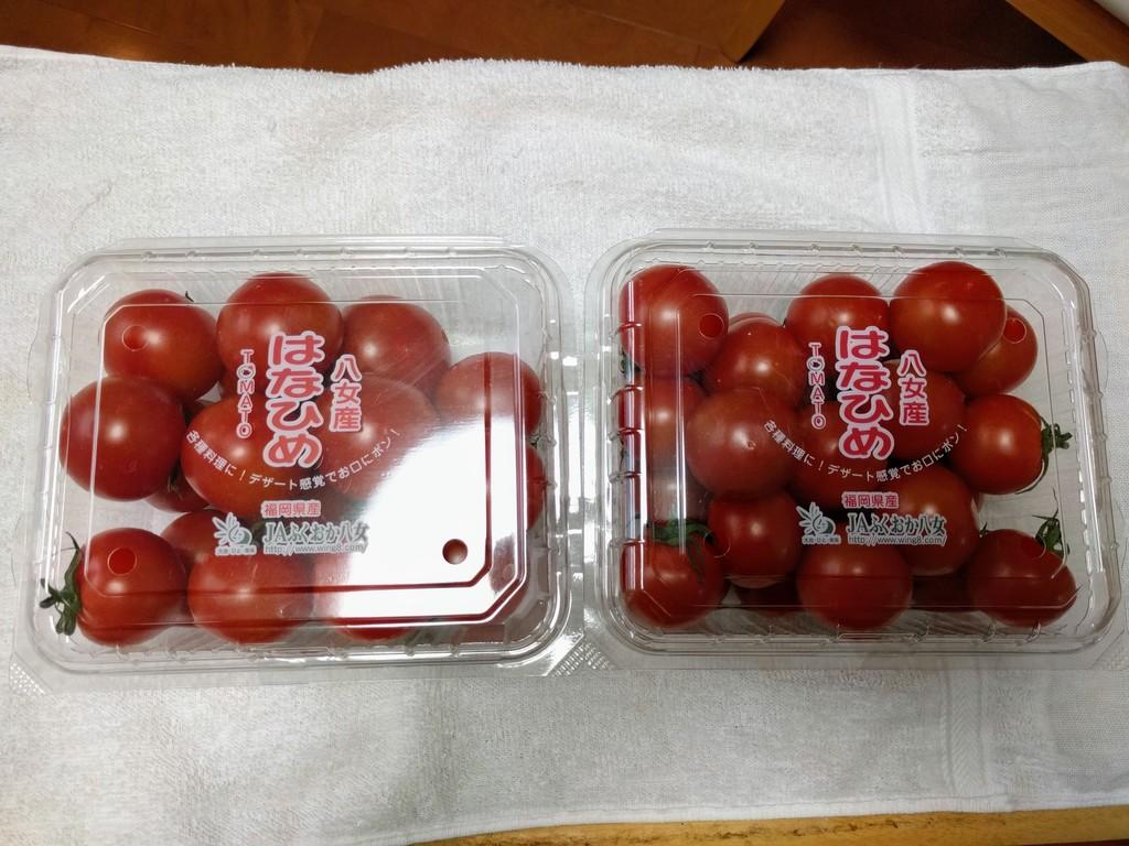 コストコのミニトマト
