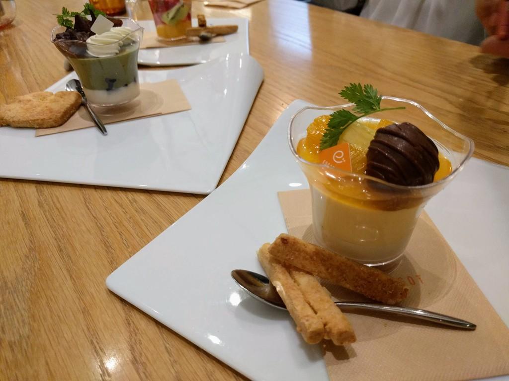 エスカルゴのデザート