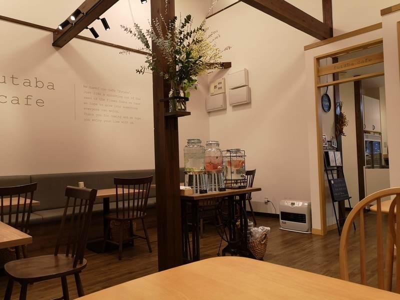 ふたばカフェの店内の様子1
