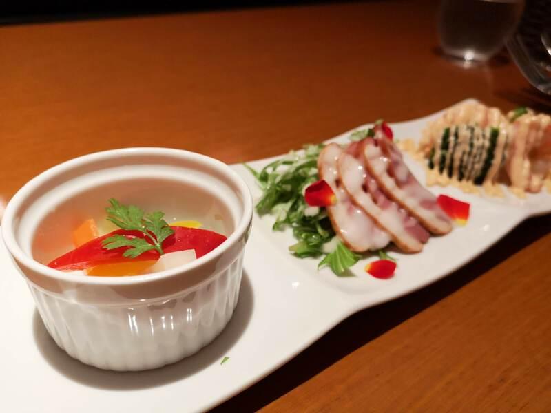 H&A南栄町の限定コースの前菜