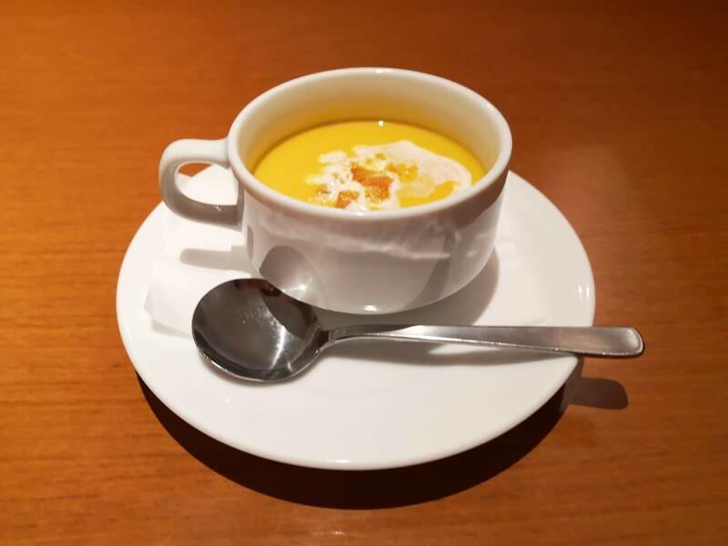 H&A南栄町の限定コースのスープ