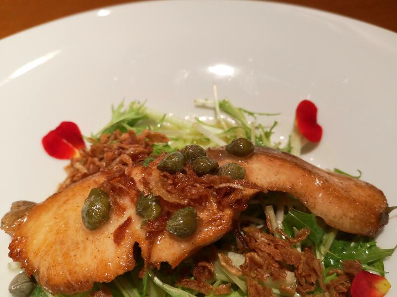 H&A南栄町の限定コースの魚料理