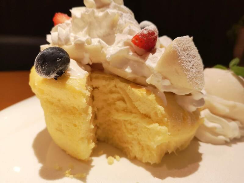 H&A南栄町のパンケーキ断面