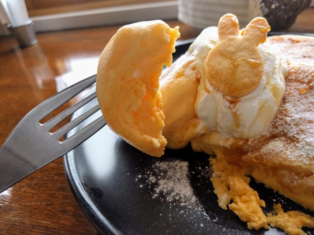 ホロポノのパンケーキアップ