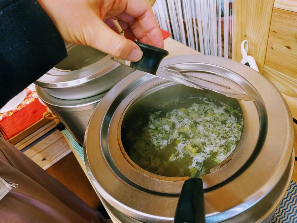 山形マルシェカフェのスープ