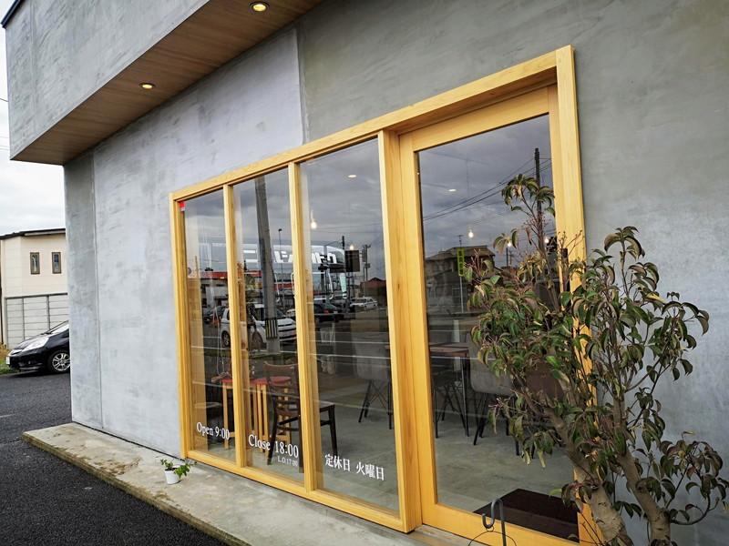 ニコル食堂の入口