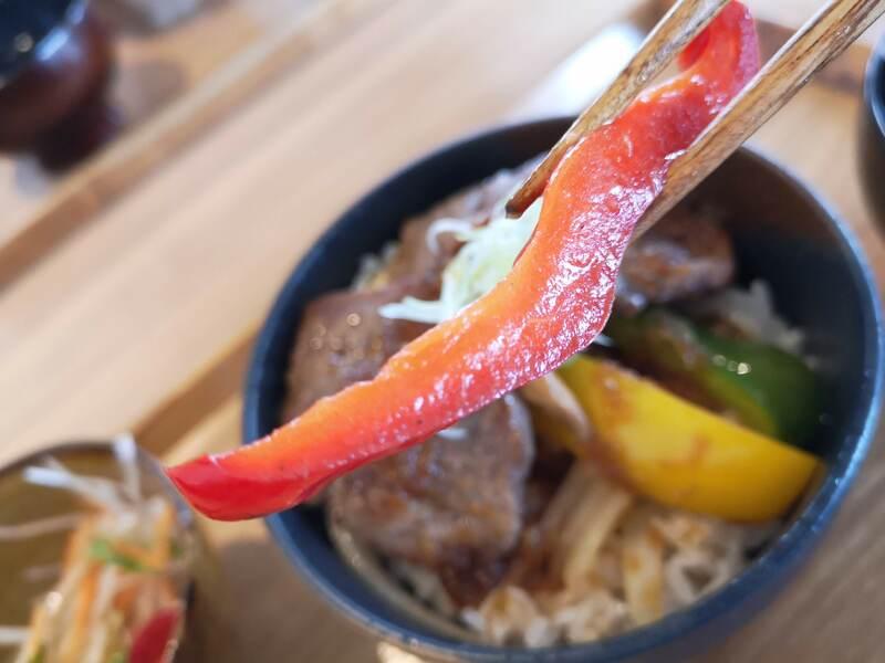 農haco(ノハコ)のステーキ丼2