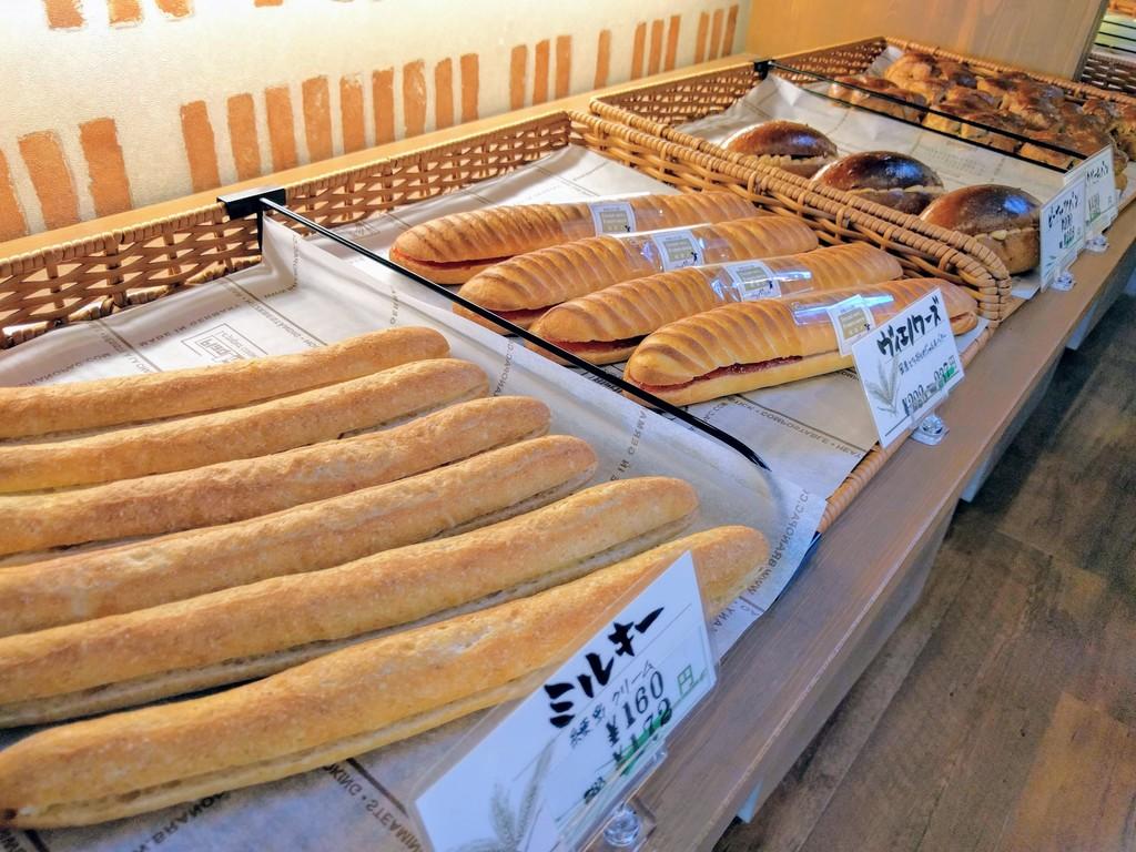 シェミオみはらしの丘店のパン2