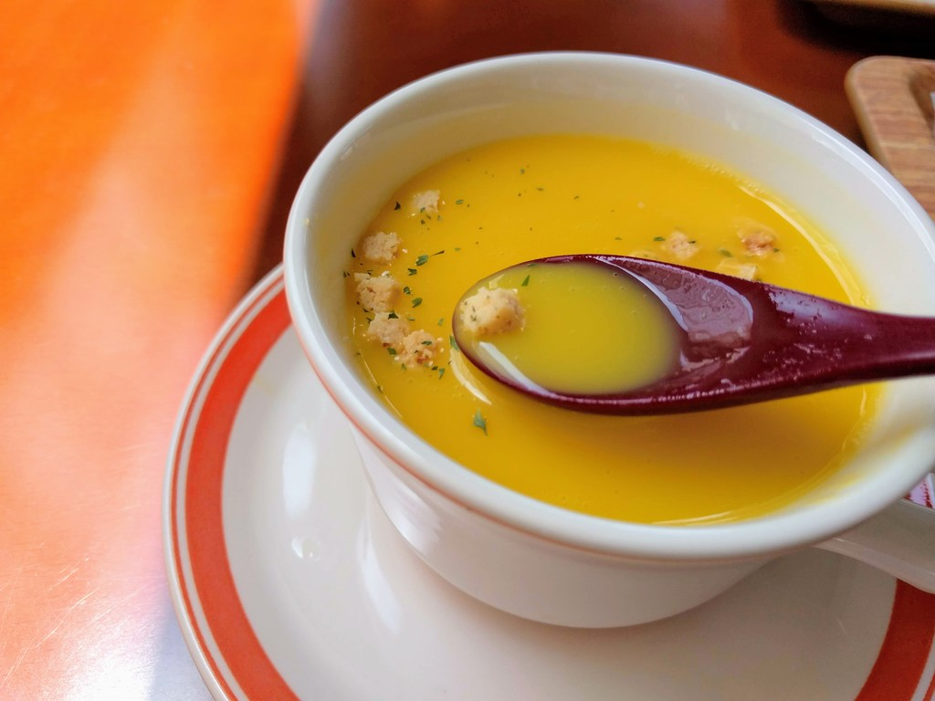 シェミオのかぼちゃスープ2