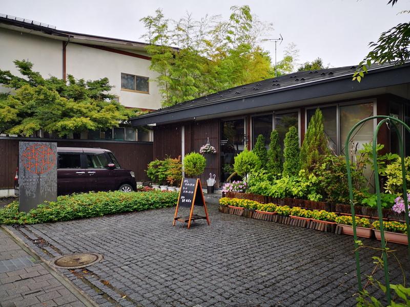 ガーデンカフェの外観
